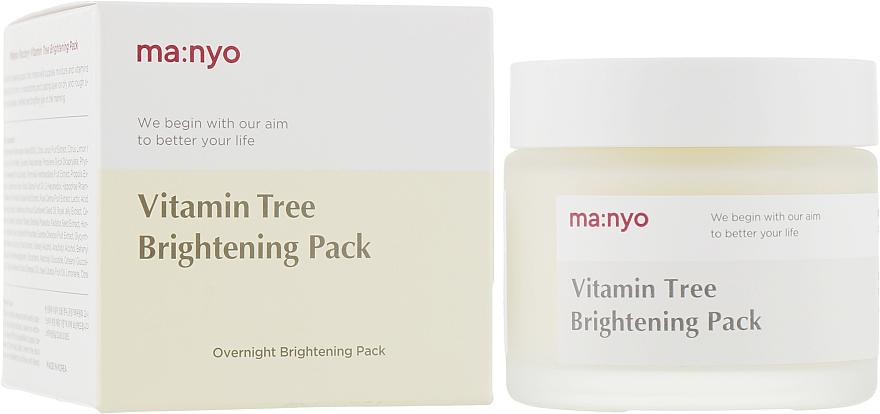 Маска с витаминами и медом - Manyo Factory Vitamin Tree Brightening Pack