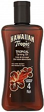 Духи, Парфюмерия, косметика Масло-спрей для загара - Hawaiian Tropic Tropical Tanning Oil Coconut SPF 4
