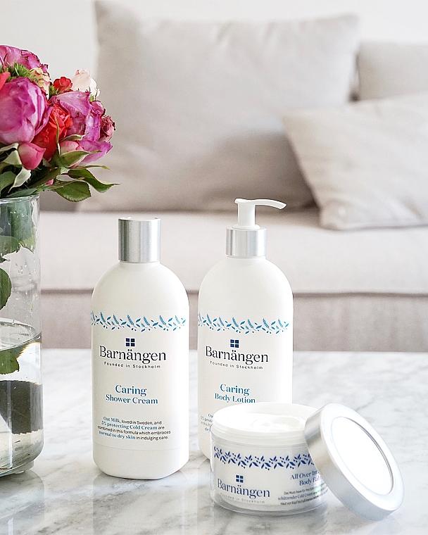 Крем-гель для душа с овсяным молочком для нормальной и сухой кожи - Barnangen Nordic Care Caring Shower Cream — фото N3