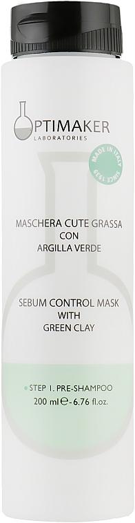 Маска для волос себорегулирующая - Optima Maschera Cute Grassa