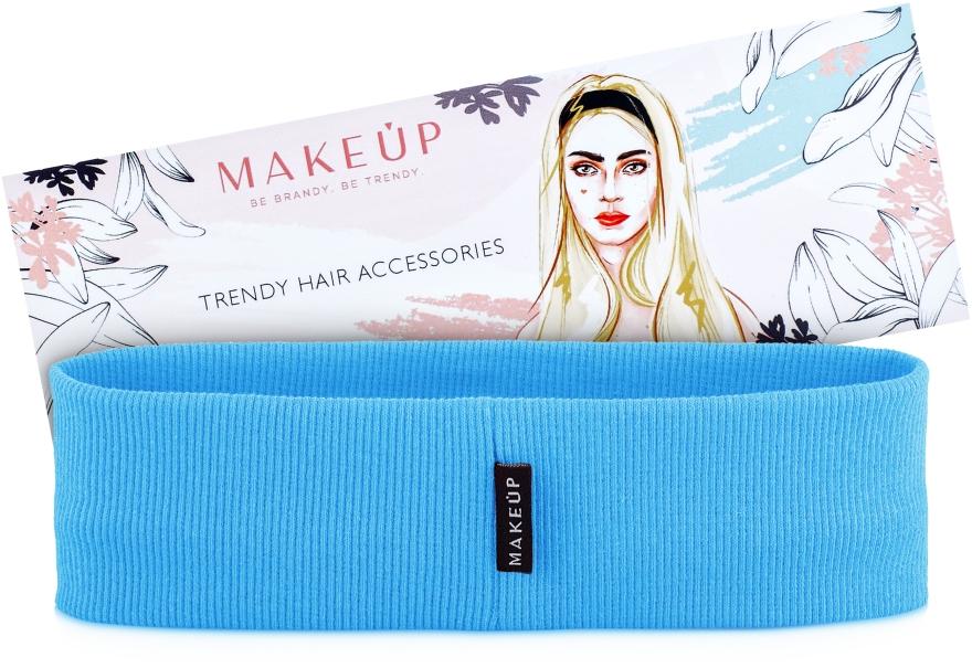 "Повязка на голову, голубая ""Be Beauty"" - Makeup"