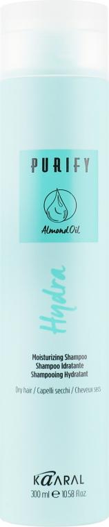 Увлажняющий шампунь с протеинами рисового молочка и миндальным маслом - Kaaral Purify Hydra Shampoo