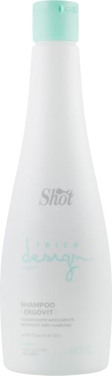 Шампунь против выпадения волос - Shot Trico Design Ergovit Shampoo