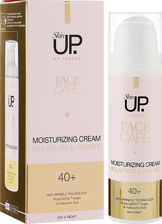 Интенсивно увлажняющий крем для лица SPF 8 - Verona Laboratories Skin UP Face Care SPF 8 40+