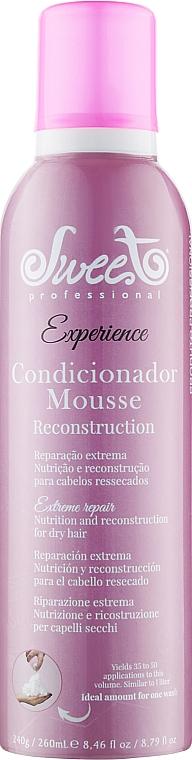 """Пенный кондиционер для волос """"Реконструкция"""" - Sweet Professional Experience Mousse Reconstruction Hair Conditioner"""