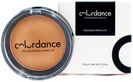 Духи, Парфюмерия, косметика Хайлайтер для лица - Colordance Highlighter & Bronzer