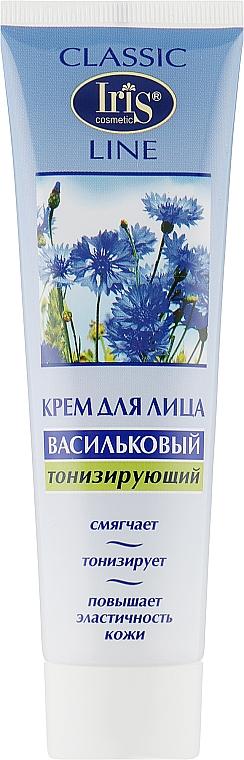 """Крем для лица """"Васильковый"""", тонизирующий - Iris Cosmetic"""