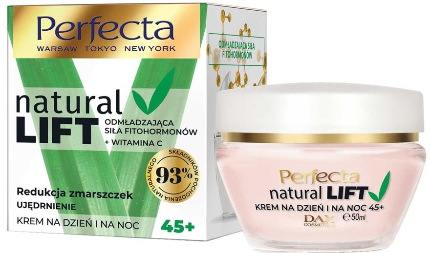 Укрепляющий крем против морщин 45+ - Perfecta Natural Lift Anti-wrinkle Firming Cream