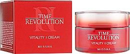 Духи, Парфюмерия, косметика Интенсивный антивозрастной крем для лица - Missha Time Revolution Vitality Cream