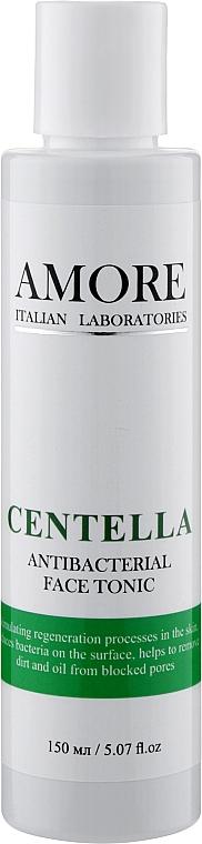 Антибактериальный противогрибковый тоник с центеллой для лечения проблемной кожи - Amore Centella Antibacterial Face Tonic