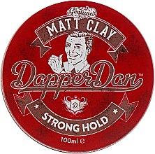 Парфумерія, косметика Глина для укладання волосся сильної фіксації - Dapper Dan Matt Clay Strong Hold
