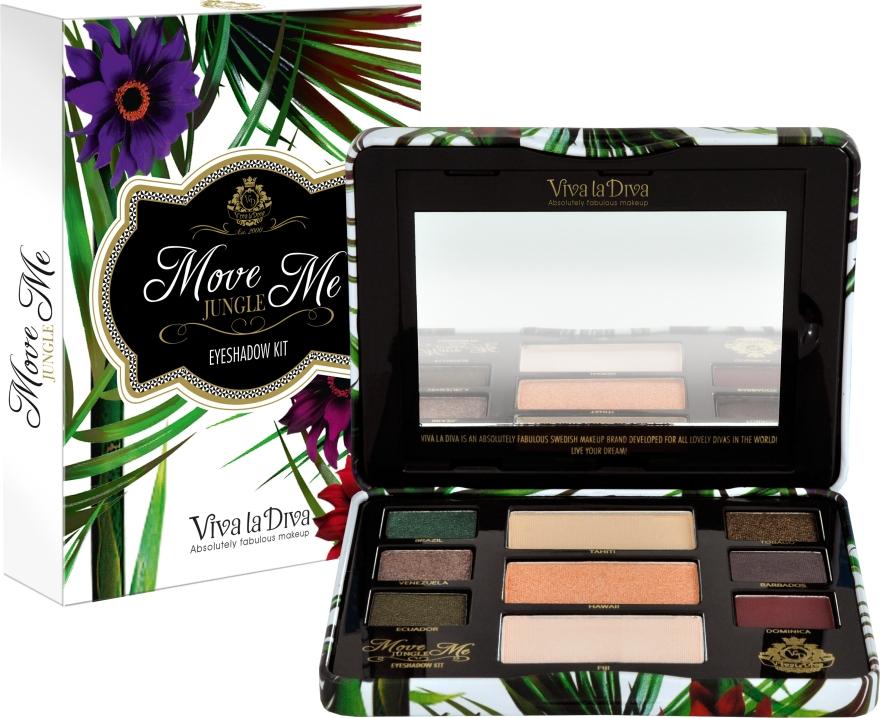 Палетка теней для век - Viva la Diva Move Me Jungle Eyeshadow Palette