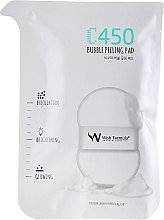 Спонж-пилинг для тела с витамином С - Wish Formula C450 Bubble Peeling Pad — фото N2