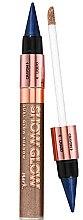 Духи, Парфюмерия, косметика Тени-карандаш 2в1 для век - Avon Show Glow Dual Eye Shadow