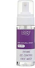 Духи, Парфюмерия, косметика Пенка для умывания для комбинированной и склонной к жирности кожи с экстрактом чабреца - Looky Look Facial Wash