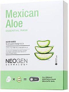 Тканевая маска для лица - Neogen Mexican Aloe Essential Mask — фото N1