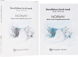 "Духи, Парфюмерия, косметика Тканевая маска ""Норвегия"" - Calluna Medica Norway Deeply Moisturizing Biocellulose Facial Mask"