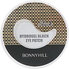 Антивозрастные черные гидрогелевые патчи - Beauadd Bonnyhill Hydrogel Black Eyepatch — фото N2