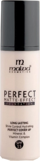 Тональный крем - Malva Cosmetics Perfect Matte Effect Foundation