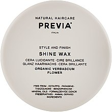 Духи, Парфюмерия, косметика Воск-блеск - Previa Style & Finish Shine Wax