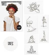 Духи, Парфюмерия, косметика Временные тату - TATTon.me Yoga Set
