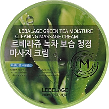 Духи, Парфюмерия, косметика Массажный крем для лица - Lebelage Green Tea Moisture Cleaning Massage Cream