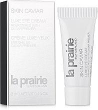 Духи, Парфюмерия, косметика Крем-люкс для области глаз с экстрактом икры - La Prairie Skin Caviar Luxe Eye Lift Cream (пробник)