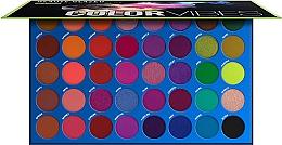 Духи, Парфюмерия, косметика Палетка теней для век - Beauty Glazed Color Vibes Eyeshadow Palette