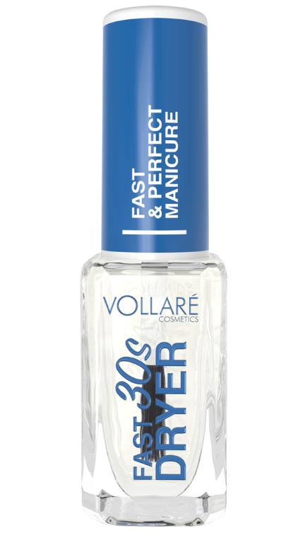 Швидка сушка лаку для нігтів  - Vollare Cosmetics Preparation for nail Fast Dryer — фото N1