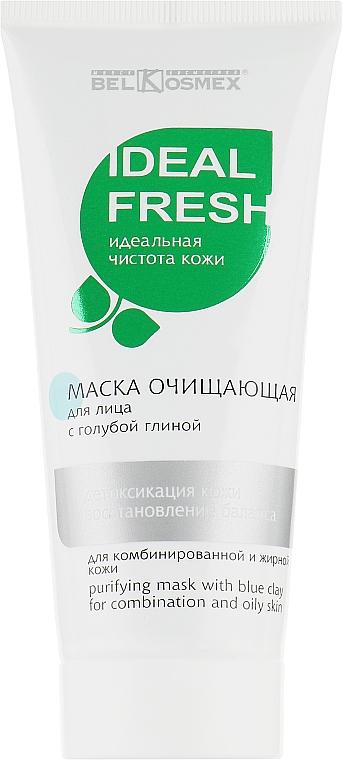 """Маска с голубой глиной """"Детоксикация кожи и восстановление баланса"""" - Belkosmex Cleansing Mask With Blue Clay"""