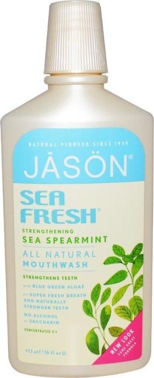"""Ополаскиватель для полости рта укрепляющий """"Свежесть моря"""" - Jason Natural Cosmetics Sea Fresh Strengthening"""