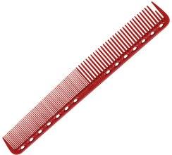 Духи, Парфюмерия, косметика Расческа для стрижки, 180мм - Y.S.Park Professional 339 Cutting Combs Red