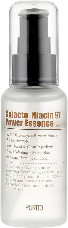 Восстанавливающая эссенция для лица с экстрактом галактомисис - Purito Galacto Niacin 97 Power Essence