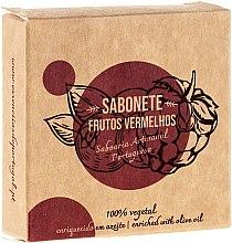 """Духи, Парфюмерия, косметика Натуральное мыло """"Красные фрукты"""" - Essencias De Portugal Senses Aromatic Red Fruits Soap With Olive Oil"""