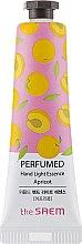 "Духи, Парфюмерия, косметика Парфюмированная эссенция для рук ""Абрикос"" - The Saem Perfumed Hand Apricot Light Essence"