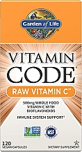 Духи, Парфюмерия, косметика Пищевая добавка - Garden of Life Vitamin Code Raw Vitamin C