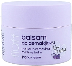 Духи, Парфюмерия, косметика Средство для снятия макияжа - Fluff Makeup Remover Balm Wild Blueberries
