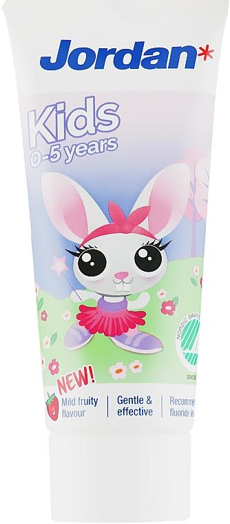 Зубная паста 0-5 лет, кролик - Jordan Kids Toothpaste
