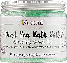 Духи, Парфюмерия, косметика Соль Мертвого моря для ванны с ароматом зеленого чая - Nacomi Dead Sea Bath Salt