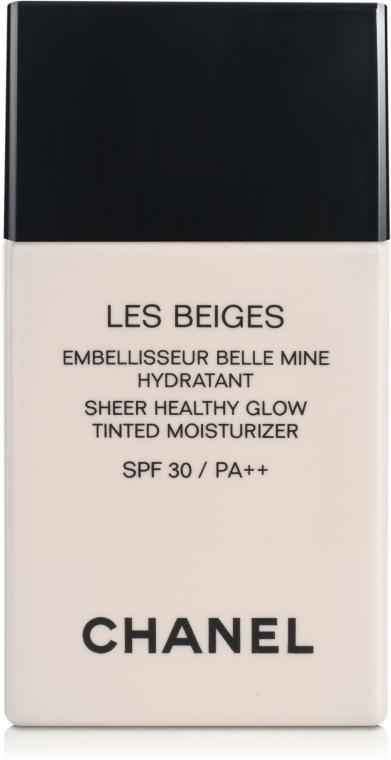 Увлажняющий оттеночный флюид с эффектом естественного сияния - Chanel Les Beiges Sheer Healthy Glow SPF 30/PA++