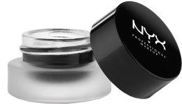 Гелевая матовая подводка для глаз - NYX Professional Makeup Gel Liner And Smudger — фото N1