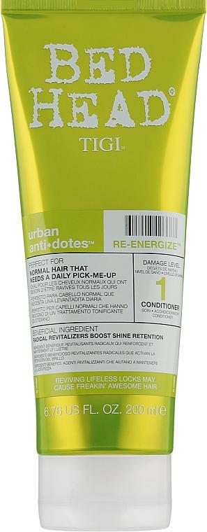 Кондиционер для ежедневного ухода для нормальных волос - Tigi Bed Head Urban Anti+Dotes Re-Energize Conditioner
