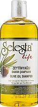 """Духи, Парфюмерия, косметика Шампунь """"Интенсивный уход"""" для волос с оливковым маслом - Selesta Life Olive Oil Shampoo"""