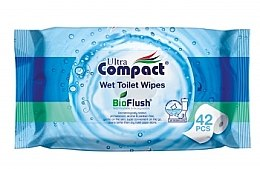 Духи, Парфюмерия, косметика Влажная туалетная бумага - Ultra Compact Wipes