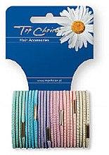 Духи, Парфюмерия, косметика Резинки для волос 24 шт, 21275 - Top Choice