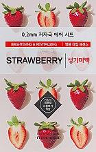 Духи, Парфюмерия, косметика Ультратонкая маска для лица c экстрактом клубники - Etude House Therapy Air Mask Strawberry