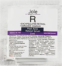 Духи, Парфюмерия, косметика Сыворотка от следов постакне с ретинолом, гиалуроновой кислотой, керамидами - Jole Retinol encapsulated for Post-Acne Serum (пробник)