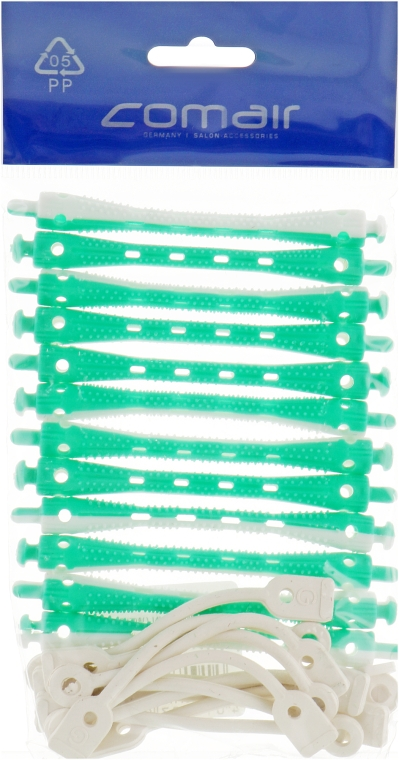 Бигуди для холодной завивки, бело-зелёные, d6 - Comair