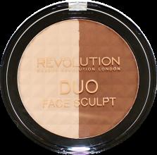 Духи, Парфюмерия, косметика Пудра для контурирования лица - Makeup Revolution Duo Face Sculpt