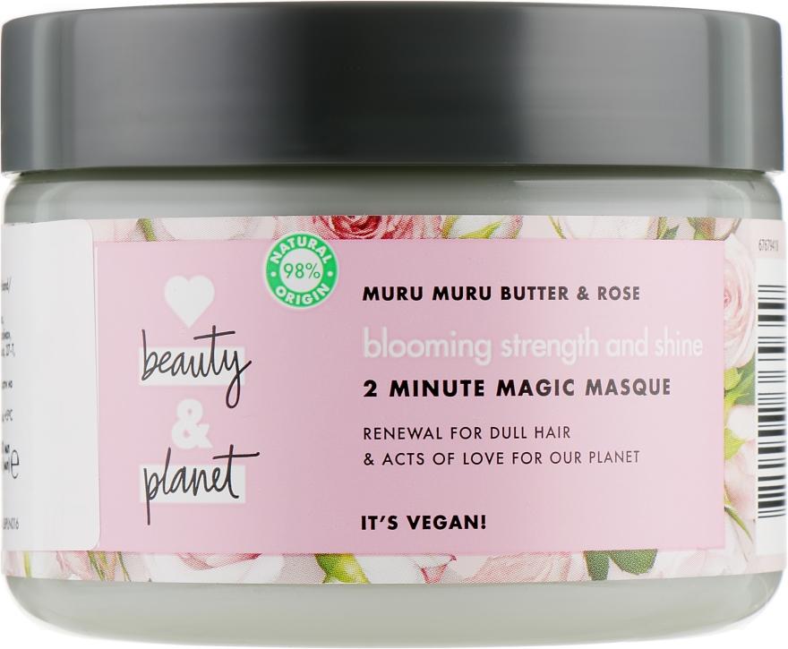 "Маска для волос ""Цветущий цвет"" - Love Beauty&Planet Muru Muru Butter&Rose"